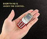 Colour : Red Smallest Dual-Sim Nano Phone