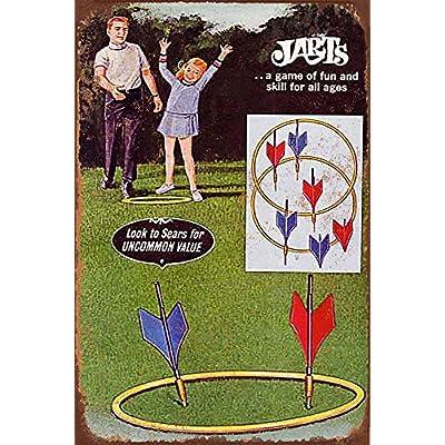 metal lawn darts