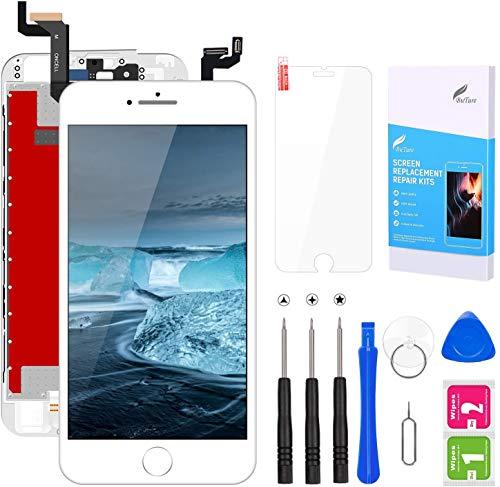 BuTure Écran iPhone 6s Remplacement de l'écran iPhone 6s Tactile LCD Kit de Réparation avec Outils (iPhone 6s Blanc 4.7 Pouces)