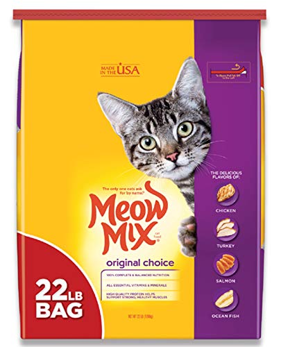 Meow Mix Original Choice Dry Cat Food, 22 Pounds
