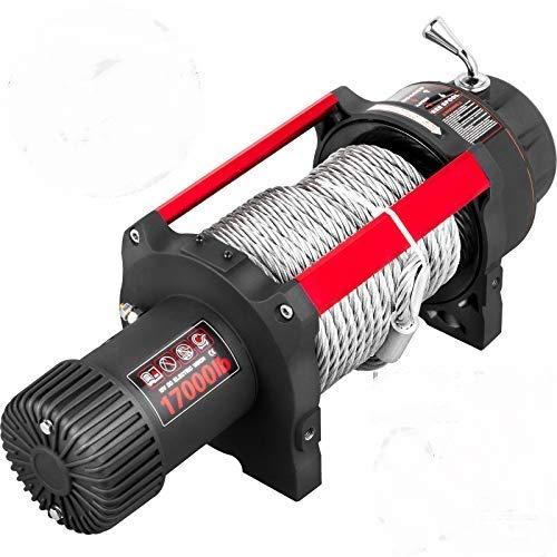 VEVOR Cabrestante Eléctrico, 17000 lb/7711 kg 4,3 kW 12 V Cabrestante para Coche con...