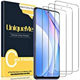 [3 Pack] UniqueMe Protector de Pantalla para Xiaomi Mi 10T Lite, Vidrio Templado [9H Dureza] HD Film Cristal Templado