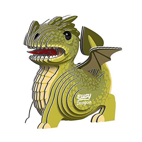エーゾーン 紙製3Dクラフトパズル EUGY~ユーギー~ ドラゴン