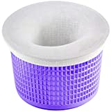Coopache 30-Pack of Pool Skimmer Socks - Filters Baskets, Skimmers Cleans Debris and Leaves for In-Ground and Above Ground Pools