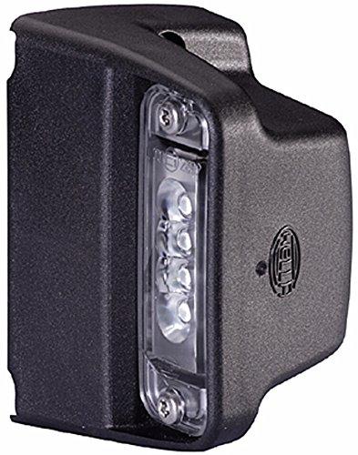 HELLA 2KA 010 278-321 Kennzeichenleuchte - LED - 12V - Lichtscheibenfarbe: glasklar - Anbau/geschraubt - Stecker: Flachstecker - Einbauort: seitlicher Anbau