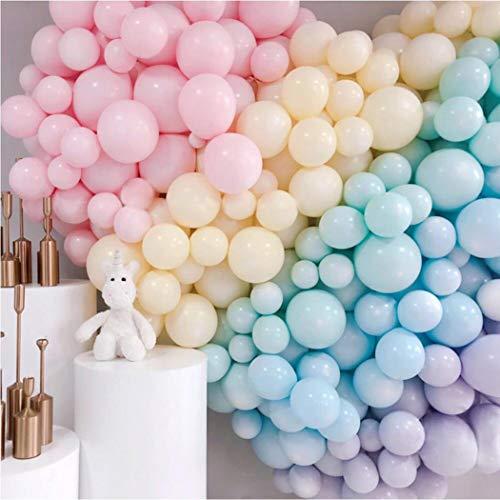 Luftballons Pastell, 200Stücke 5