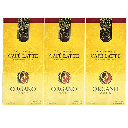1 box Organo Gold Cafe Latte 100% Certified Organic Gourmet Coffee