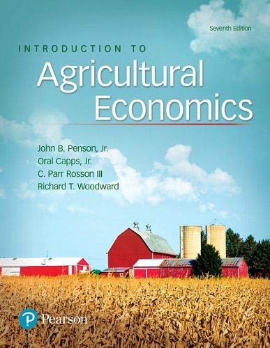 Compare Textbook Prices for Introduction to Agricultural Economics What's New in Trades & Technology 7 Edition ISBN 9780134602820 by Penson, John,Capps Jr., Oral,Rosson, C.,Woodward, Richard