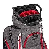 Founders Club Franklin Golf Push Cart Bag -Riding Cart Bag -Full Bag Rain Cover -Secure Push Cart Base -Light Weight -15...
