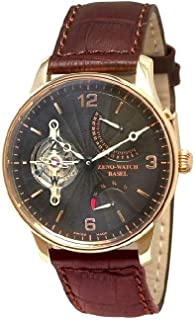Zeno-Watch Hommes montre - Tourbillon Retrograde Power Reserve 18ct gold - 6791TT-RG-f1