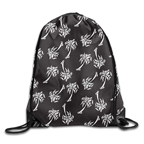 uykjuykj Bolsos De Gimnasio,Mochilas,Classic Dabbing Zebra Sport Drawstring Bag for Adult Kids Birthday Pattern 5 Lightweight Unique 17x14 IN