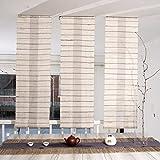 GHAMXRQJXIDJA Rideau Japonais/Rideau/Rideau de cloison/Rideau Demi décoratif/Rideau de Ramie/Rideau-A diamètre35cm(14inch)
