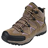 Northside Women's Snohomish-W Hiking Boot, Tan/Periwinkle, 8 M US