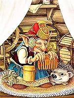 ダイヤモンド絵画クリスタル写真ダイヤモンド刺繡漫画高齢者5dダイヤモンド絵画漫画フルダイヤモンドキャラクター写真装飾ホーム手作り-Light_Grey_30X40CM