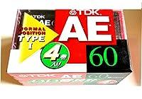 TDK いい音設計 AE-60X4F オーディオカセットテープ
