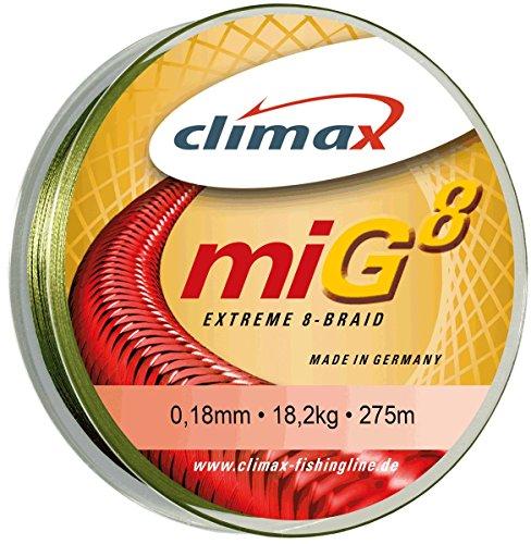 Climax miG 8 oliv-grün 0,12mm, 135m