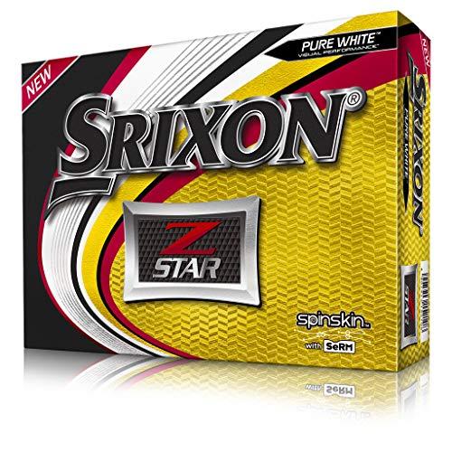Srixon Z-Star 6 Pure White Golf Balls (One Dozen)