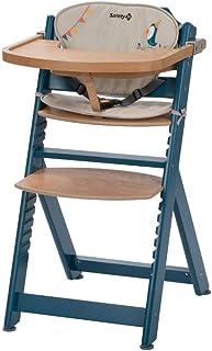 Safety 1st Timba con cojin, Trona de madera evolutiva,