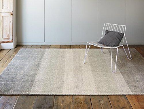 MODERNER Designer Teppich Hays, grau, 160 X 230 cm