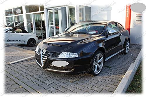AB-00008 PROTECTOR DEL CAPO compatible con Alfa Romeo 147 2000-2004, GT 2000-2004 Bonnet Bra TUNING
