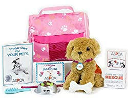 ASPCA® Complete Adopt-A-Pet Puppy Set, Complete 11 Piece ASPCA® Golden Puppy Set