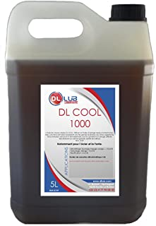 DLLUB - HUILE SOLUBLE D'USINAGE DL COOL 1000-5 litres