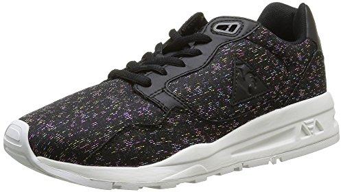 Le Coq Sportif Damen LCS R900 Rainbow Sneakers, Schwarz (BlackBlack), 36 EU