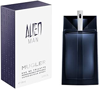 Alien Man Refillable Mugler Eau de Toilette - Perfume Masculino 100ml