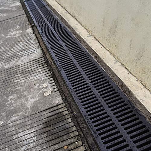 Canaletta Canalina di scolo raccogli Scarico del pavimento del canale di drenaggio, gallina per la griglia di scarico da esterno impedisce ai blocchi alle foglie impediscono alle foglie di bloccare le