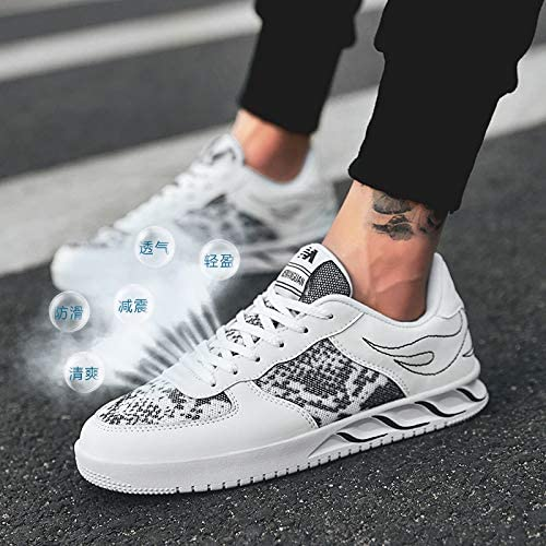LOVDRAM Chaussures Hommes chaussures chaussures Male Korean Fashion Sports Hommes's chaussures Décontracté chaussures Wild chaussures Students blanc chaussures  exclusif