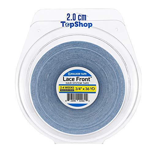Fita Adesiva Capilar Lace Front 33m x 2cm Walker Tape