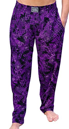 Crazee Wear Workout Purple Rain Baggy Pants