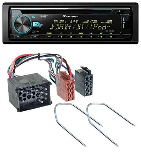 caraudio24 Pioneer DEH-X7800DAB DAB MP3 CD USB Bluetooth Autoradio für BMW (E36, 1990-2000)