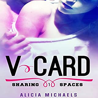 V-Card audiobook cover art