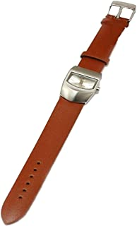 GIORDANO 2067-2 Ladies Tan Brown Leather Strap Watch