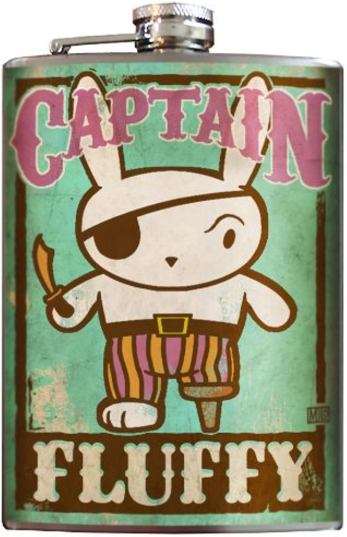 100% garantía genuina de contador Captain Fluffy flask - 8oz 8oz 8oz Stainless Steel by Trixie & Milo by Trixie & Milo  barato en alta calidad