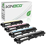 Kineco 4 Toner kompatibel für Brother TN-241 TN-245 für Brother MFC-9142CDN 9342CDW 9332CDW DCP-9022CDW HL-3150CDW - TN-241BK TN-245C TN-245M TN-245Y - Schwarz 2.500 Seiten, Color je 2.200 Seiten