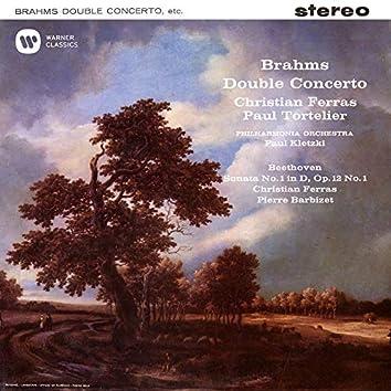 Brahms: Double Concerto, Op. 102 - Beethoven: Violin Sonata, Op. 12 No. 1