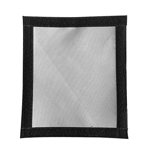 Tenda a caldo per fornelli, giacche rotonde, giacche forate, ignifughe, anello di protezione anti-scottatura per tende da forno
