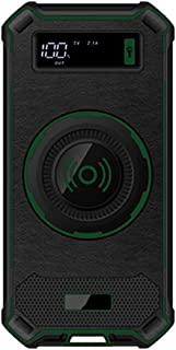 WangLx Ele Cargador Inalámbrico Power Bank 10000mAh, Batería Externa Cargador Inalámbrico Carga Rápida, LED Pantalla Digital para iPhone XS/XS MAX/XR/X/ 8/8 Plus y Todos Móviles con QI