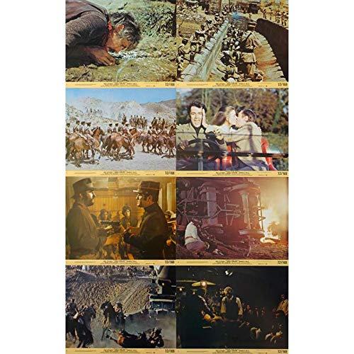 IL ETAIT UNE FOIS LA REVOLUTION Photos de film x8-20x25 cm. - 1971 - James Coburn, Sergio Leone