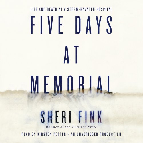 Five Days at Memorial audiobook cover art