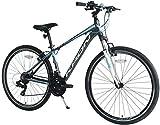 KRON TX-100 Aluminium Mountainbike 28 Zoll   21 Gang Shimano Kettenschaltung mit V-Bremse   18 Zoll...