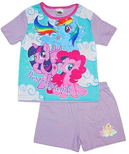 My Little Pony Girls Short Summer Pyjamas (7-8 Years) Purple