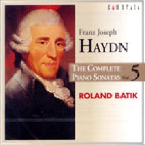 THE COMPLETE PIANO SONATAS VOL.5 / ROLAND BATIK by JOSEPH HAYDN [Korean Imported] (2004)
