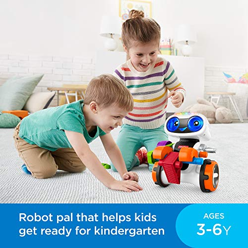The Kinderbot is a top learning toy for 3-year-old and 4-year-old boys