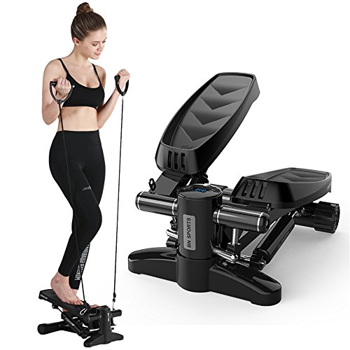 Buy Household Fitness Mini Stepper, Mini Stepper, Leg Arm Thigh Toner Toning Machine with LED Displa...