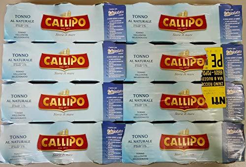 Tonno Callipo 80x3x 8 cluster ( nr 24 scatolette ) al naturale