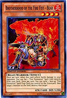 Yu-Gi-Oh! - Brotherhood of the Fire Fist - Bear (CT10-EN008) - 2013 Collectors Tins - Limited Edition - Super Rare