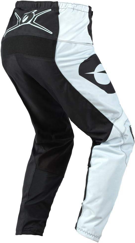 Pants W42 // Jersey XX-Large ONeal Element Racewear Black//White Men motocross MX off-road dirt bike Jersey Pants combo riding gear set